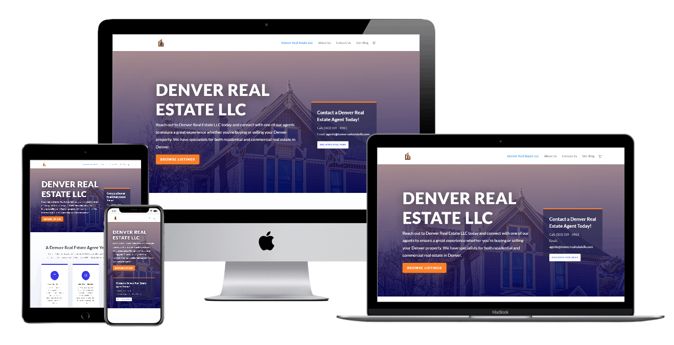 Denver Real Estate LLC Website Design